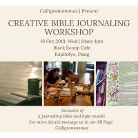 Creative Bible Journaling Workshop