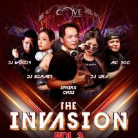 THE INVASION VOL. 3 AT COVE MANILA