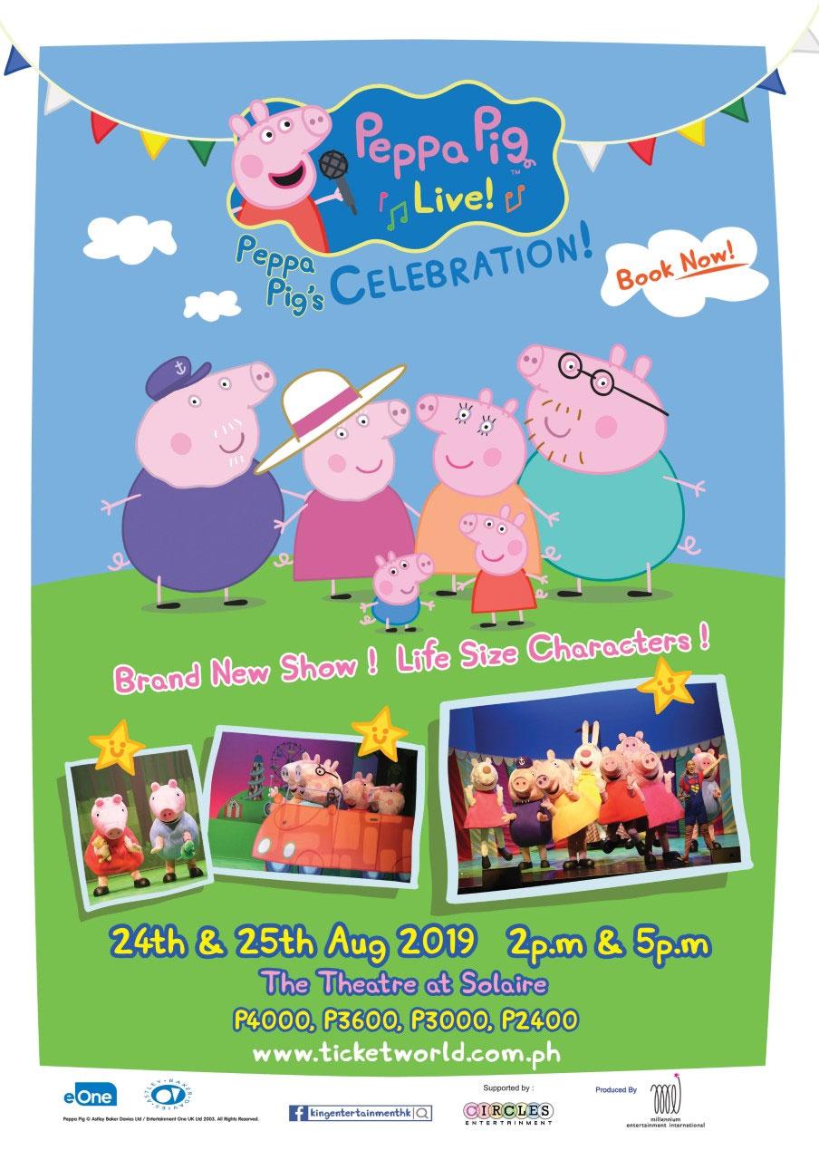 "Peppa Pig Live! ""Peppa Pig's Celebration"""