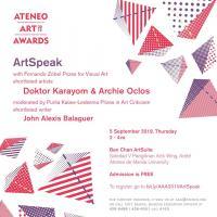 ArtSpeak: Doktor Karayom & Archie Oclos w/ John Alexis Balaguer