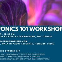 Hydroponics 101 Workshop