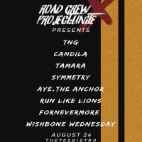 TNG, CANDILA TAMARA SYMMETRY AYE THE ANCHOR RUN LIKE LIONS FOR NEVERMORE WISHBONE WEDNESDAY AT THE 70'S BISTRO