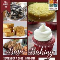 Basic Baking for Beginners with Chef Heinz Pelayo
