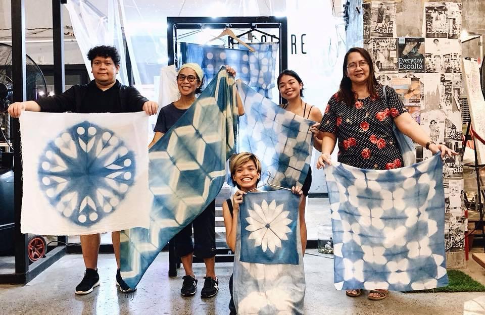 Itajime Shibori Indigo Dyeing Workshop - What's Happening