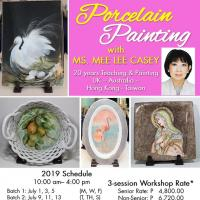 Porcelain Painting Workshop