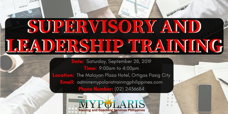 Supervisory and Leadership Training