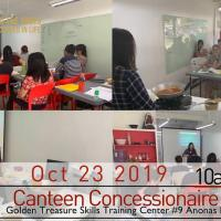 Canteen Concessionaire Seminar set
