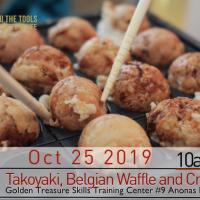 Takoyaki, Belgian Waffle and Crepe Making seminar set
