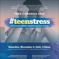 Teen Congress 2019: #TeenStress