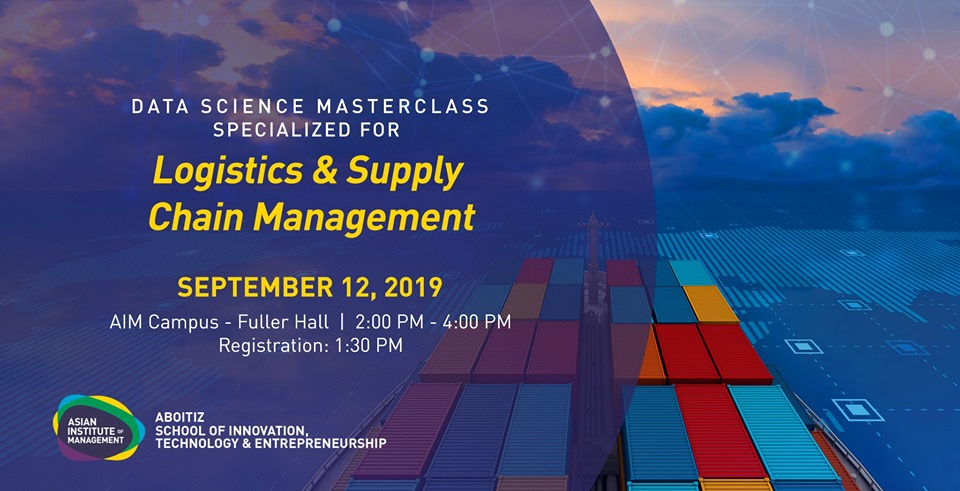 Data Science Masterclass: Logistics & Supply Chain