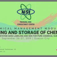 Chemical Management Seminar: GHS Labelling and SDS Preparation