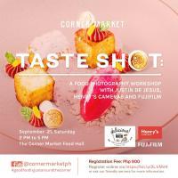 Taste shot: A Food Photography Workshop