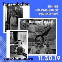 Sining Ng Paghugot Workshop