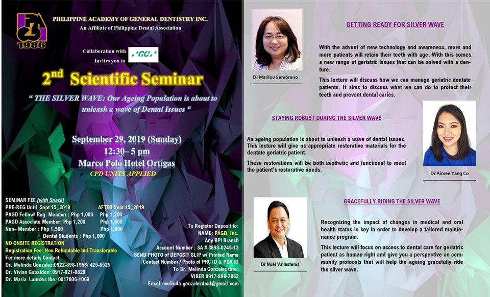 2nd Scientific Seminar