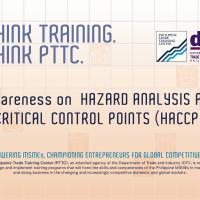 Awareness Seminar on Hazard Analysis and Critical Control Points