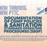Documentation of cGMP Policies & Sanitation Standard Operating P