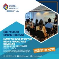 How to Invest in the Right Franchise Seminar