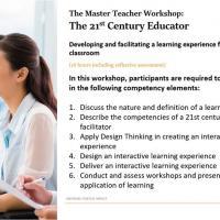The Master Teacher Workshop: The 21st Century Educator