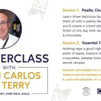 Masterclass with Juan Carlos De Terry of Terry's Bistro