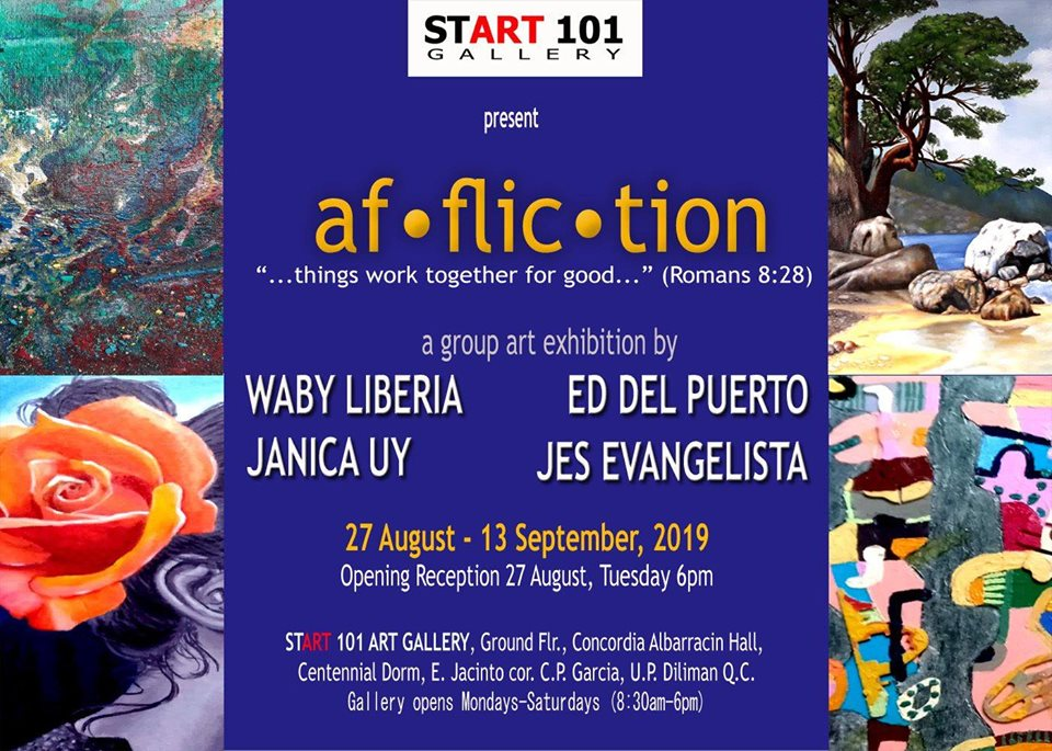 Affliction: A Group Art Exhibition