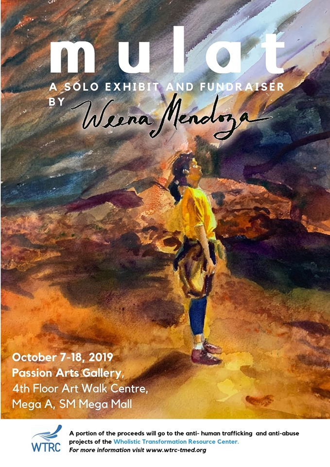 MULAT, A solo exhibit and fundraiser by Weena Mendoza
