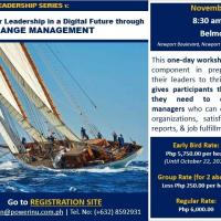 Public Workshop: Change Management