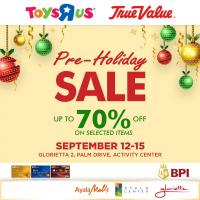 """TOYS """"R"""" US PRE-HOLIDAY SALE"""