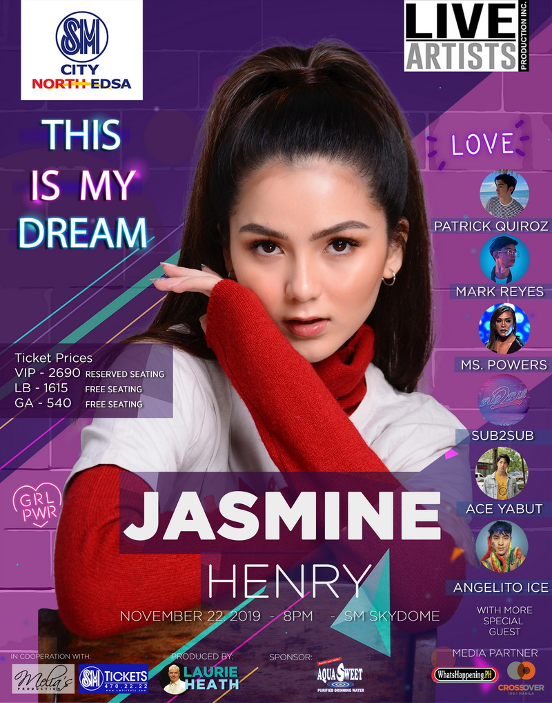 Jasmine Henry - This Is My Dream Live at The Skydome