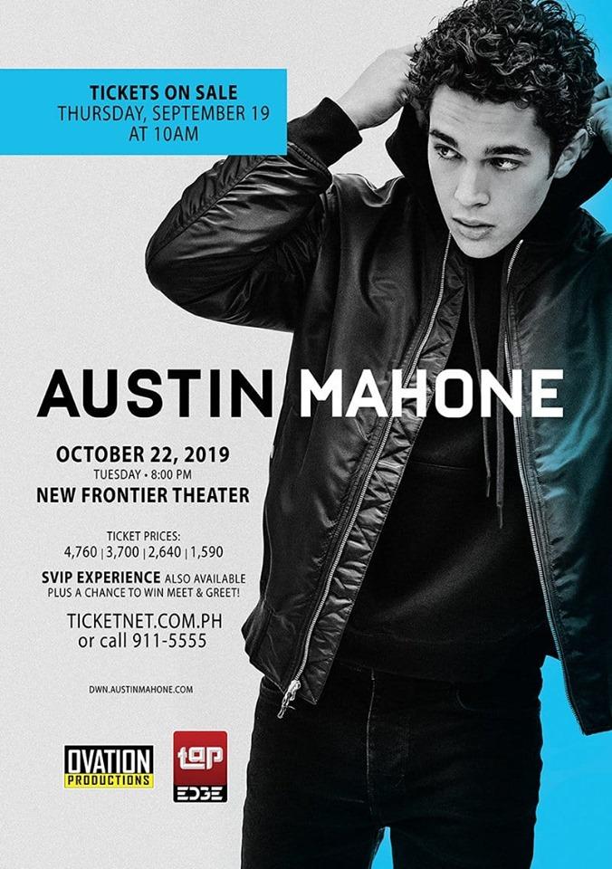 AUSTIN MAHONE LIVE IN MANILA 2019