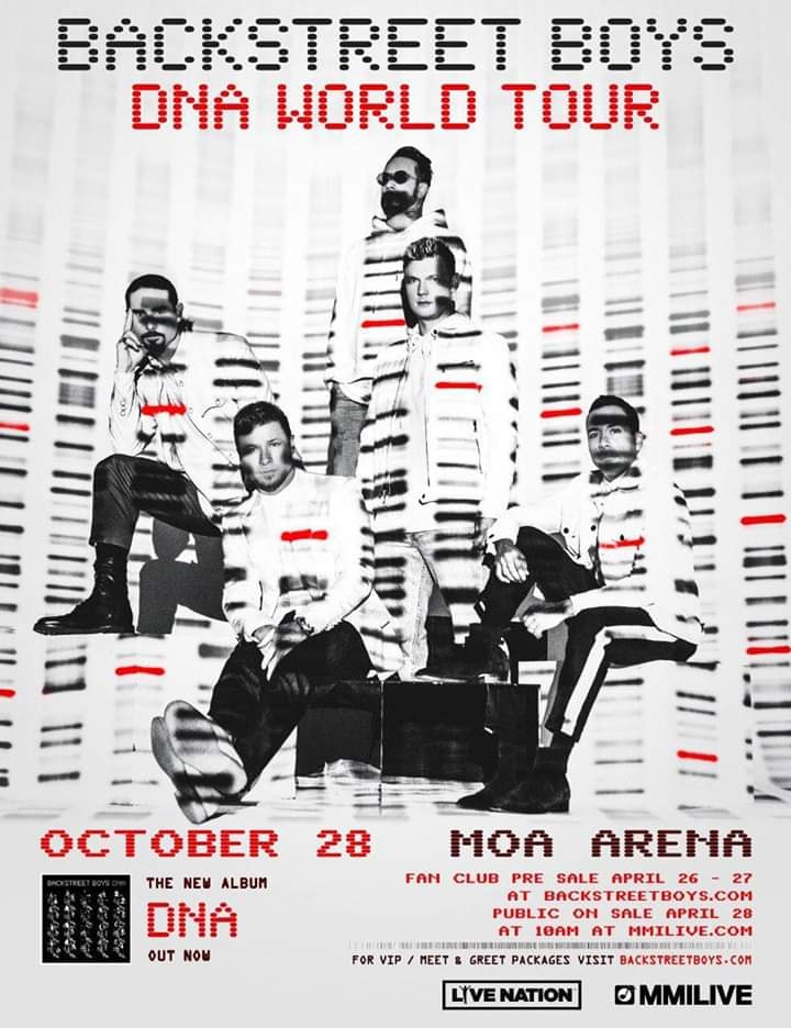 DNA WORLD TOUR: BACKSTREET BOYS LIVE IN MANILA