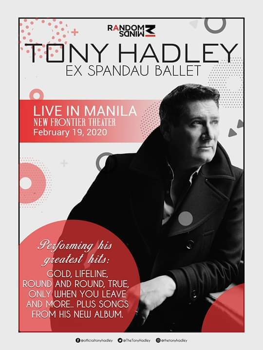 TONY HADLEY LIVE IN MANILA