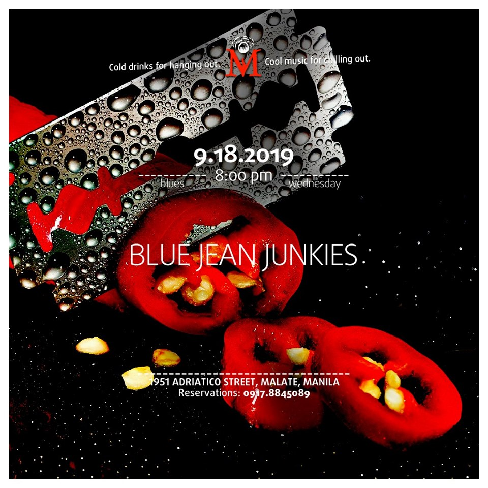 BLUES WEDNESDAY WITH BLUE JEAN JUNKIES AT THE MINOKAUA