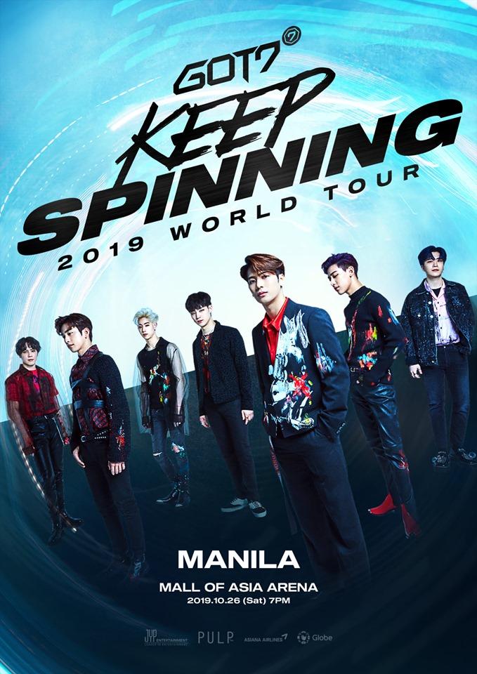 GOT7 2019 WORLD TOUR 'KEEP SPINNING' IN MANILA