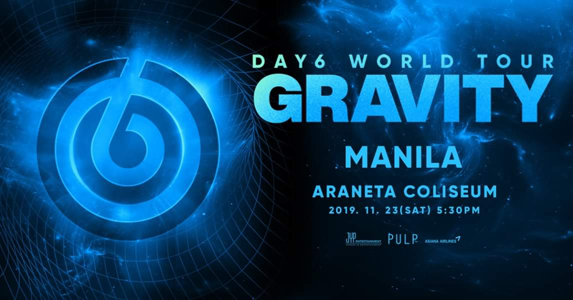 DAY6 WORLD TOUR 'GRAVITY' IN MANILA