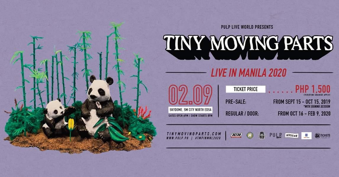 TINY MOVING PARTS LIVE IN MANILA 2020