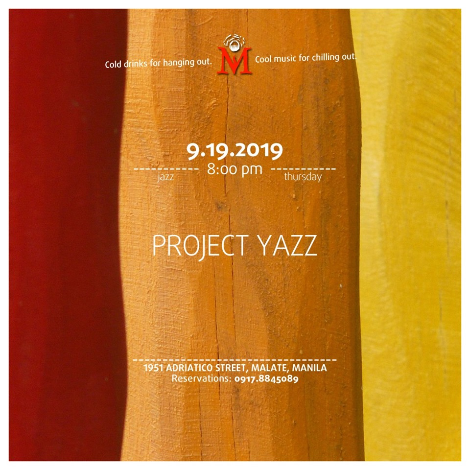 JAZZ THURSDAY WITH PROJECT YAZZ AT THE MINOKAUA