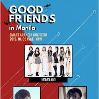 GOOD FRIENDS IN MANILA