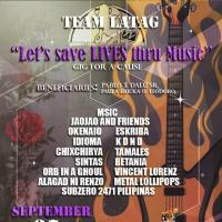 LET'S SAVE LIVES THRU MUSIC AT MATCHBOX YARD