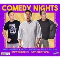COMEDY NIGHTS AT OPEN KITCHEN