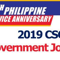 2019 CSC NCR Government Job Fair