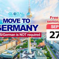 Move to Germany! IELTS/German is NOT required. Free seminar by Global Visa Support