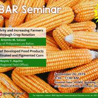 Free Seminar by Bureau of Agricultural Research