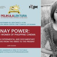 FREE PUBLIC LECTURE: PELIKULA LEKTURA WITH SARI DALENA