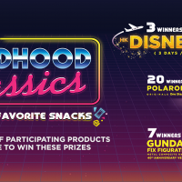 Feel Like a Kid Again with 7-Eleven's Childhood Classics Promo, Win A trip For 2 to Disneyland and More!