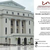 Free RTD: Filipina Architects on Gender and Built Heritage