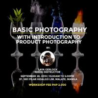 Basic Photography with Introduction to Product Photography