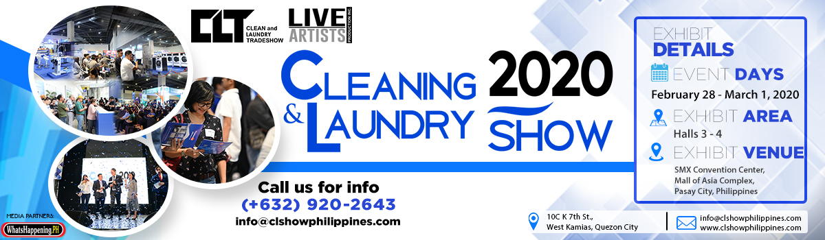 cleaning and laundry show