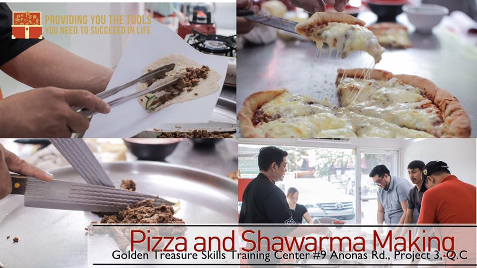 PIZZA AND SHAWARMA MAKING SEMINAR SET