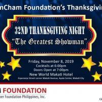 32nd AmCham Foundation's Thanksgiving Night