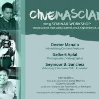 Manila Science High School Holds Film Seminar Workshop